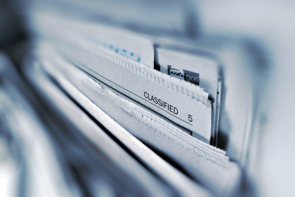 muchos periódicos, la base del clipping